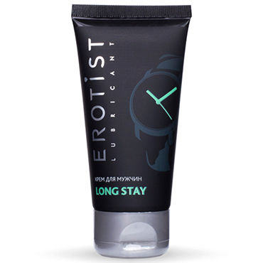 Erotist Long Stay, 50 мл Продлевающий крем для мужчин вибраторы erotist