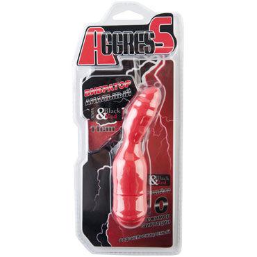 Toyfa Black&Red Вибратор анальный, красный Небольшого размера у yхaiio pheromones 196 млн результатов