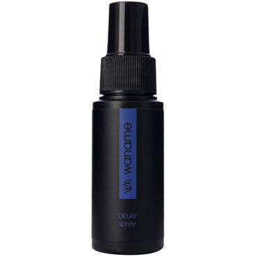 Waname Delay Spray, 50 мл Спрей для продления эрекции ns novelties jelly rancher ripple t plug фиолетовая анальная пробка