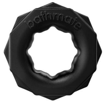 Bathmate Spartan, черное Эрекционное кольцо для мужчин вибромассажер vinyl p shape vibrator