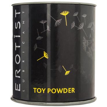Erotist Lubricant Toy Powder, 50 г Пудра для игрушек вибраторы erotist