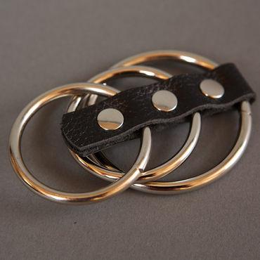 Podium сбруя На фаллос и мошонку, 3 кольца toyfa popo pleasure анальная втулка 9см с рельефной полосой