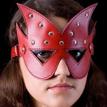 Toyfa-leather маска Хром