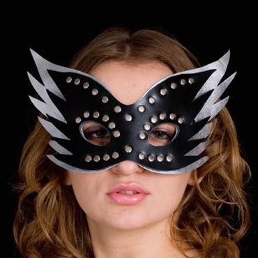 Toyfa-leather маска Кожа, с заклепками