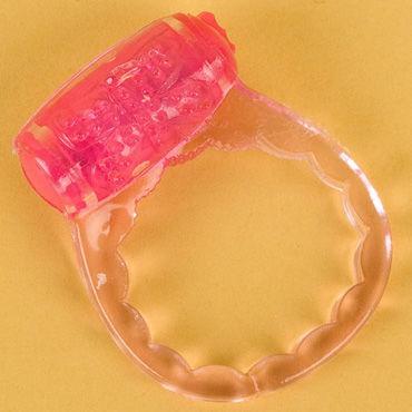 Toyfa кольцо, розовое С вибрацией toyfa кольцо фиолетовое с вибрацией