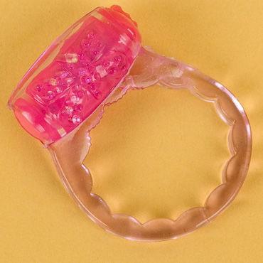 Toyfa кольцо, фиолетовое С вибрацией
