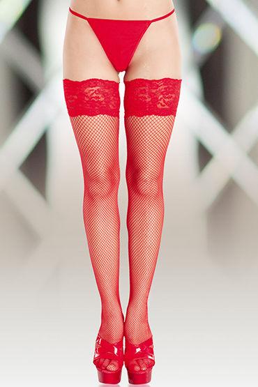 Soft Line чулки, красные В мелкую сетку р топы и маечки женские soft line