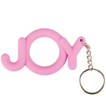 Shots Toys  Joy Cocking, розовый Необычное эрекционное кольцо shots toys wow cocking розовый необычное эрекционное кольцо