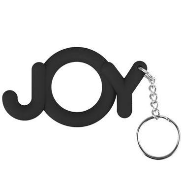 Shots Toys  Joy Cocking, черный Необычное эрекционное кольцо shots toys wow cocking розовый необычное эрекционное кольцо