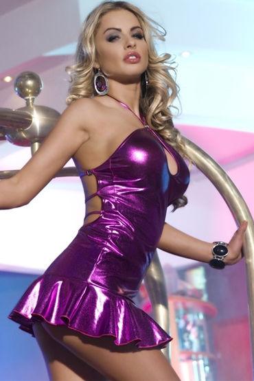 Candy Girl платье, фиолетовое С открытой спинкой 7 candy girl мини платье
