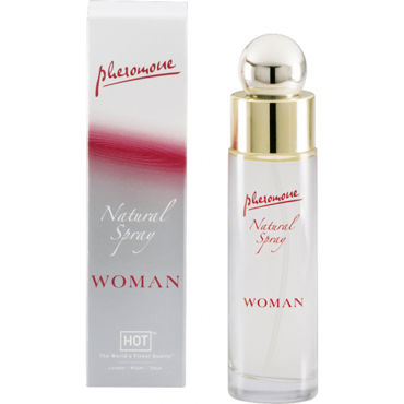 Hot Woman Natural Spray, 45 мл Духи для женщин с феромонами трусики flavia s