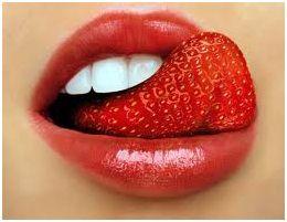 клубничный рот
