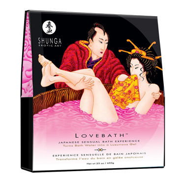 Shunga Lovebath Фрукты Дракона, 650 гр Гель для ванны вибраторы fun toys