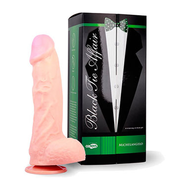 Topco Black Tie Affair Michelangelo Фаллоимитатор на присоске