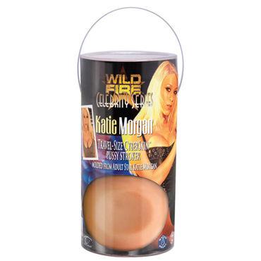 Topco Celebrity Series Katie Morgan Мастурбатор вагина в тубусе