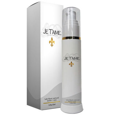 Je Taime All Natural WaterBase Lube, 50мл, Лубрикант на водной основе