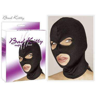 You2Toys Head Mask, черная Маска-шлем матерчатая bad kitty mask черная bdsm маска на голову