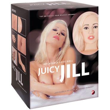 Bad Kitty Love Doll Juicy Jill, телесная Кукла с анатомическим лицом и конечностями женские духи desire 15 obilque мини 5 мл