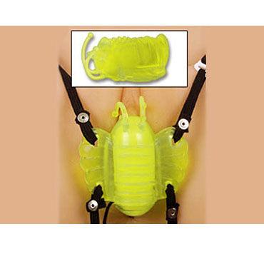 Gopaldas Butterfly Massager желтый Клиторальный стимулятор с вибрацией