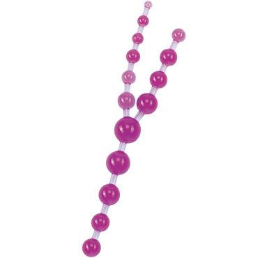 Gopaldas Triple Anal Pleasures фиолетовый Анальные шарики fun factory smartball uno фиолетово белый вагинальный шарик со смещенным центром тяжести