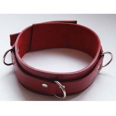 Beastly ошейник, красный Без подкладки beastly двухсторонний карабин 10 см применяется как средство для связывания