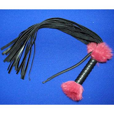 Beastly плетка 18-полосная, мягкая gopaldas анальная цепочка розовая на жесткой сцепке