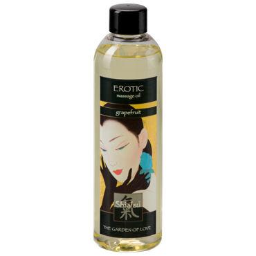 Shiatsu Oil Erotic Grapefrut, 250 мл Массажное масло грейпфрут shiatsu aphrodisia exotic flowers 250 мл масло для ванны экзотические цветы