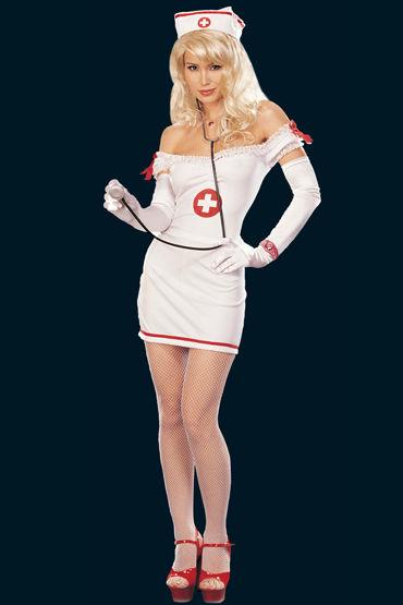 Shirley Медсестра Платье, головной убор и аксессуар shirley body