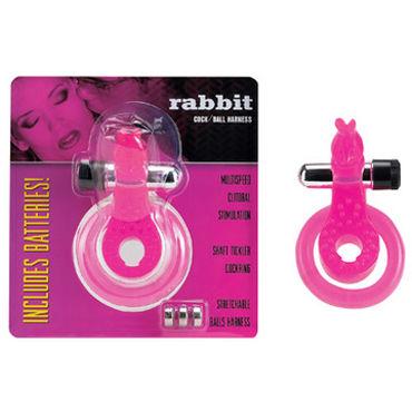 Gopaldas Rabbit Эрекционное кольцо с клиторальным стимулятором gopaldas эрекционное кольцо со стимулирующей поверхностью 3 шт