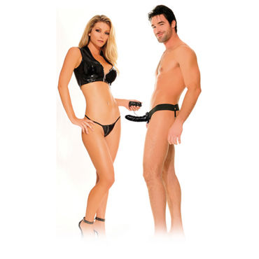 Pipedream Vibrating Hollow Strap-On - фото, отзывы