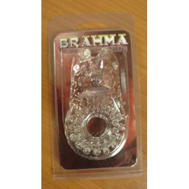 Gopaldas Brahma Эрекционное кольцо со стимулятором клитора california exotic intimate ring ribbed кольцо на пенис