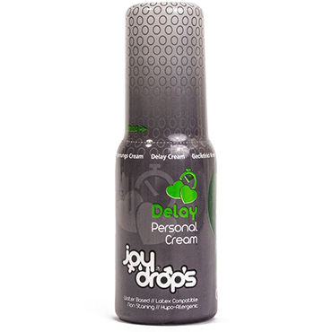 JoyDrops Deloy Cream, 50 мл Пролонгирующий крем для мужчин hot ero prorino clitoris cream 50мл возбуждающий крем для женщин