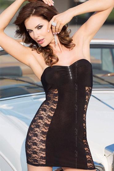 Soft Line платье С кружевными вставками soft line лена красный эротичное боди с юбочкой