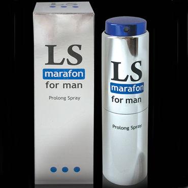 Bioritm Lovespray Marafon, 18 мл Спрей-пролонгатор для мужчин ovo l1a petite love balls розовые комплект вагинальных шариков