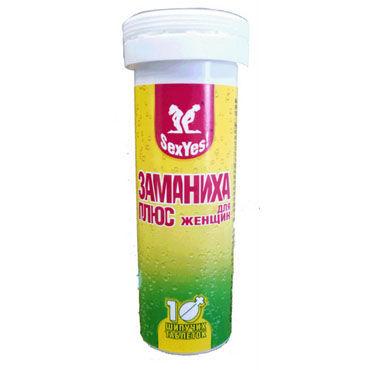 Bioritm Заманиха, 10 шт Шипучие таблетки для женщин lexy bonnie рельефный минивибратор декорированый стразами