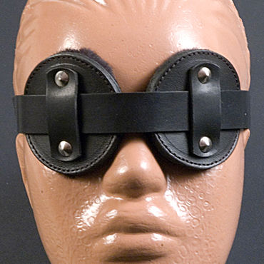 Beastly Слепец, черные Очки-шоры с меховой подкладкой