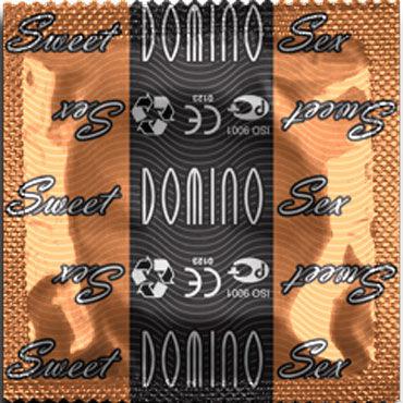 Domino Карамель Презервативы со вкусом карамели missu презервативы 6 шт секс игрушки для взрослых