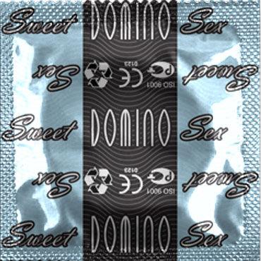 Domino Кокос Презервативы со вкусом кокоса sitabella ошейник белый узкий с шипами