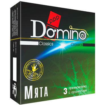 Domino Мята Презервативы ароматизированные lola alice 94