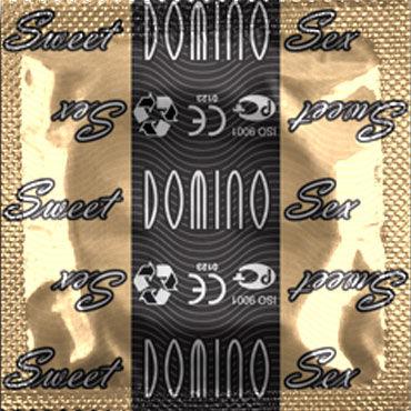 Domino Тирамису Презервативы со вкусом тирамису missu презервативы 6 шт секс игрушки для взрослых