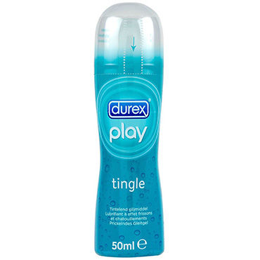 Durex Play Tingle, 50 мл Лубрикант с охлаждающим эффектом вибробабочки материал abs пластик это
