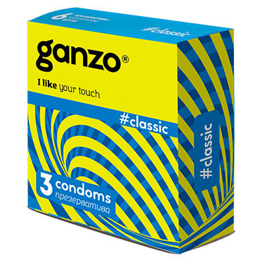 Ganzo Classic Презервативы классические durex classic презервативы классические