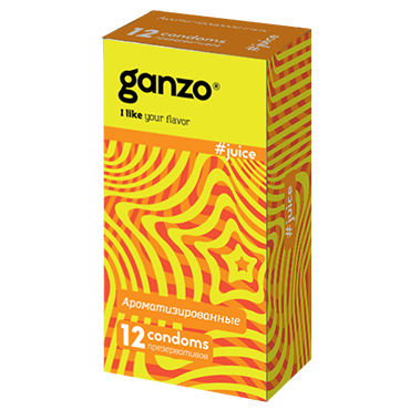 Ganzo Juice Презервативы ароматизированные viva ароматизированные презервативы цветные ароматизированные