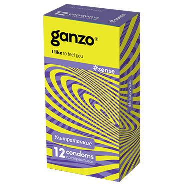 Ganzo Sence Презервативы ультратонкие ganzo touch aqua 30 мл для