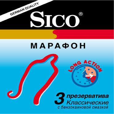Sico Марафон Презервативы продлевающие ароматизированные смазки sico купить