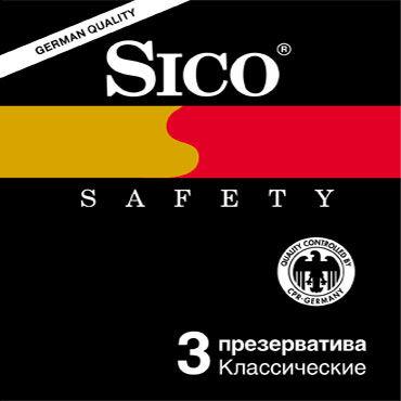 Sico Safety Презервативы классические sico safety tamaño