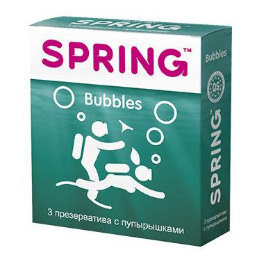 Spring Bubbles Презервативы с пупырышками