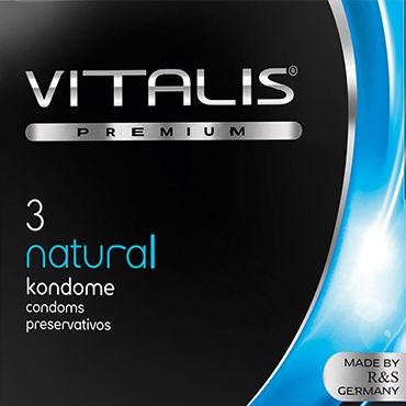 Vitalis Natural Презервативы классические vitalis stimulation
