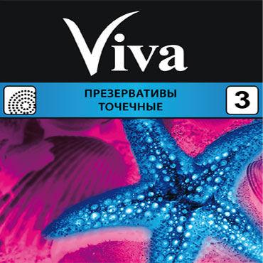 Viva Точечные Презервативы с пупырышками шарм ветер колоритного белье взрослых продуктов стюардесса униформа синий m код