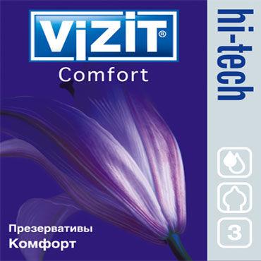 Vizit Hi-Tech Comfort Презервативы анатомической формы vitalis comfort plus презервативы анатомической формы